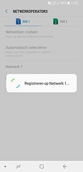 Samsung Galaxy A8 (2018) (SM-A530F) - Netwerk selecteren - Handmatig een netwerk selecteren - Stap 12