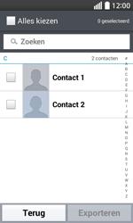 LG Optimus L70 (LG-D320n) - Contacten en data - Contacten kopiëren van toestel naar SIM - Stap 7