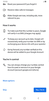 Samsung galaxy-s9-plus-android-pie - Applications - Create an account - Step 15