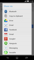 Sony Xperia Z2 (D6503) - Internet - Internet browsing - Step 20