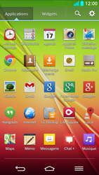 LG G2 - E-mail - Configuration manuelle - Étape 3