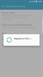 Samsung Galaxy S7 Edge - Red - Seleccionar una red - Paso 9