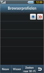 Samsung S8000 Jet - Internet - handmatig instellen - Stap 11
