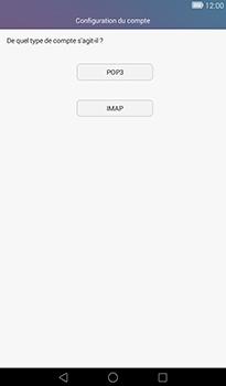 Huawei MediaPad T1 (7.0) - E-mail - Configuration manuelle - Étape 7