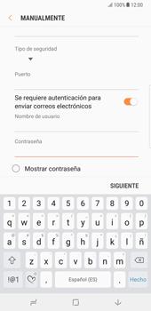Samsung Galaxy Note 8 - E-mail - Configurar correo electrónico - Paso 16