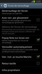 Samsung Galaxy Note 2 - Sécuriser votre mobile - Activer le code de verrouillage - Étape 11