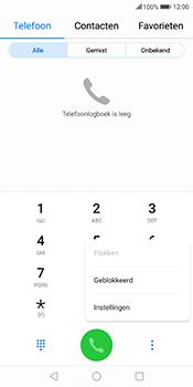 Huawei Mate 10 Lite (Model RNE-L21) - Voicemail - Handmatig instellen - Stap 4