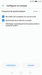 Huawei P10 - E-mail - Configuration manuelle - Étape 19
