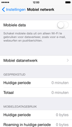 Apple iPhone 5 (Model A1429) met iOS 8 - Internet - Uitzetten - Stap 5