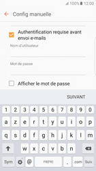 Samsung Galaxy S6 Edge - Android M - E-mail - Configuration manuelle - Étape 13