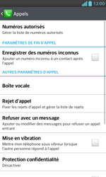 LG E975 Optimus G - Messagerie vocale - configuration manuelle - Étape 6