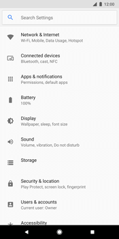 Google Pixel 2 XL - Internet - Enable or disable - Step 4