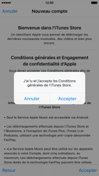 Apple iPhone 6 iOS 9 - Applications - Créer un compte - Étape 11