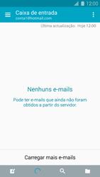 Samsung Galaxy S5 - Email - Adicionar conta de email -  4