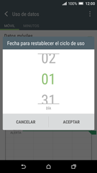 HTC One A9 - Internet - Ver uso de datos - Paso 7
