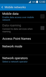 Samsung G318H Galaxy Trend 2 Lite - Internet - Enable or disable - Step 8