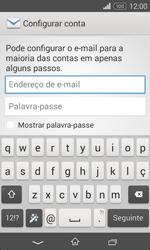 Sony Xperia E1 - Email - Adicionar conta de email -  5