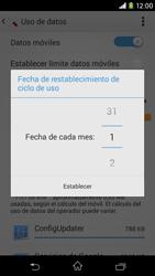 Sony Xperia M2 - Internet - Ver uso de datos - Paso 7