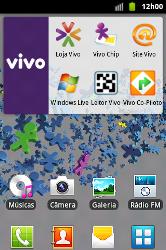 Samsung Galaxy Ace - Multimídia - Como ver fotos e videos armazenados no seu telefone - Etapa 1