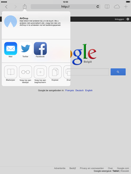 Apple iPad mini iOS 7 - Internet - Hoe te internetten - Stap 5