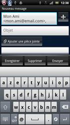 Sony Ericsson Xperia Neo V - E-mail - envoyer un e-mail - Étape 6