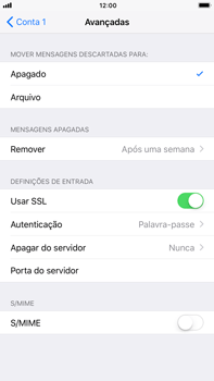 Apple iPhone 8 Plus - Email - Configurar a conta de Email -  23