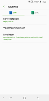 Samsung galaxy-a8-2018-sm-a530f-android-oreo - Voicemail - Handmatig instellen - Stap 8