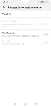 Huawei Mate 20 - Internet - comment configurer un point d'accès mobile - Étape 5