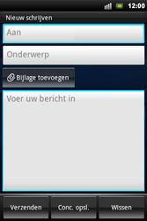 Sony Ericsson Xperia Mini Pro - E-mail - hoe te versturen - Stap 5