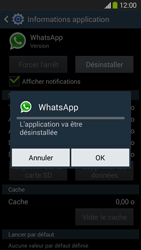 Samsung Galaxy Grand 2 4G - Applications - Supprimer une application - Étape 8