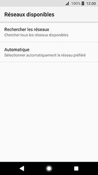 Sony Xperia XA2 Ultra - Réseau - Sélection manuelle du réseau - Étape 7