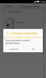 Alcatel One Touch POP S3 4G (OT-5050X) - Contacten en data - Contacten kopiëren van SIM naar toestel - Stap 10