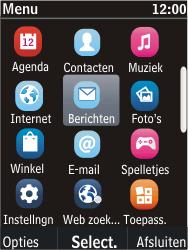 Nokia C2-05 - MMS - Afbeeldingen verzenden - Stap 2