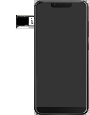 Wiko View 2 Plus - Appareil - comment insérer une carte SIM - Étape 7