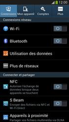 Samsung Galaxy S4 - Internet et connexion - Désactiver la connexion Internet - Étape 4