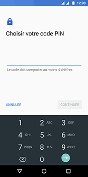 Motorola Moto G6 - Sécuriser votre mobile - Activer le code de verrouillage - Étape 8