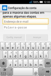 Alcatel POP C1 - Email - Adicionar conta de email -  5