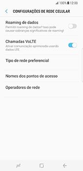 Samsung Galaxy S8 - Internet no telemóvel - Como configurar ligação à internet -  8