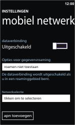 Samsung I8350 Omnia W - Netwerk - Gebruik in het buitenland - Stap 8