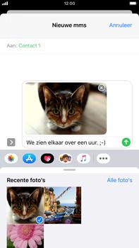 Apple iPhone 7 Plus - iOS 13 - MMS - afbeeldingen verzenden - Stap 14