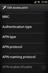 Sony ST23i Xperia Miro - Internet - Manual configuration - Step 15