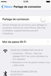Apple iPhone 4S (iOS 8) - Internet et connexion - Utiliser le mode modem par USB - Étape 6