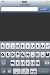 Apple iPhone 3G - Internet - navigation sur Internet - Étape 3