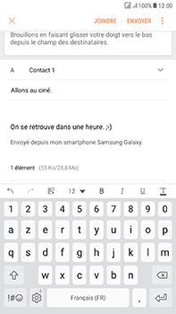Samsung J730F Galaxy J7 (2017) (DualSIM) - E-mail - envoyer un e-mail - Étape 17