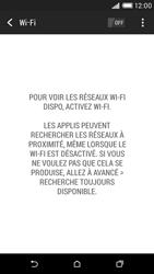 HTC Desire 816 - Wifi - configuration manuelle - Étape 4