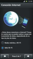 Sony Xperia J - Primeros pasos - Activar el equipo - Paso 5