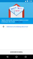 Motorola Moto X4 - Email - Como configurar seu celular para receber e enviar e-mails - Etapa 5