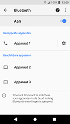 Sony Xperia X Compact - Android Oreo - Bluetooth - koppelen met ander apparaat - Stap 11