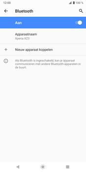 Sony Xperia XZ3 - Bluetooth - koppelen met ander apparaat - Stap 10
