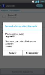 LG E975 Optimus G - Bluetooth - Jumeler avec un appareil - Étape 8